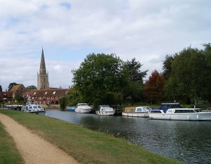 Abingdon by the river